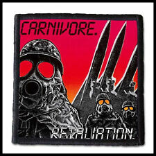 CARNIVORE - Retaliation  --- Patch / Aufnäher ---