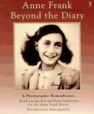 ANNE FRANK BEYOND THE DIARY photographic Remembrance softcover Puffin Book GC