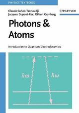 Photons and Atoms - Introduction to Quantum Electrodynamics (Wiley Pro-ExLibrary
