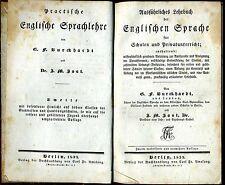 Ausführliches Lehrbuch der Englischen Sprache (G. F. BURCKHARDT) Berlin 1833