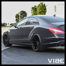 "20"" VERTINI RF1.2 GLOSS BLACK CONCAVE WHEELS RIMS FITS MERCEDES W221 S550 S63"