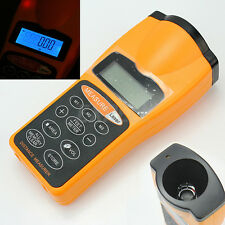 LCD Ultrasonic Measure Distance Meter Laser Range Finders 18m Measurer Tool New