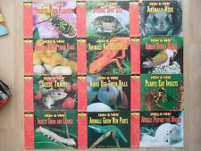 CREATIVE TEACHING PRESS~How & Why Lot 12~NONFICTION~Poisonous Animals~Spiders~