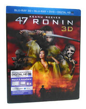 NEW ~ 47 Ronin  3D Blu-ray DVD, 2014, 3-Disc Set, Includes Digital Copy