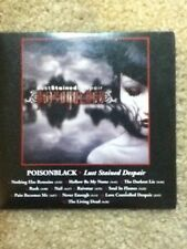 poisonblack lust stained despair advanced cd promo 2006 century media