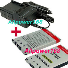 NP-20 NP20 Battery For CASIO Exilim EX-Z77 7.2 MP DIGITAL Camera + Charger
