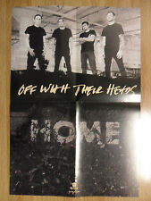 Music Poster Promo Off With Their Heads ~ Home