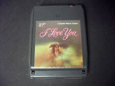 I Love You Vol 7-Various Artists 8-Track Tape-Good Condition