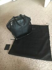 Alexander Wang Black Handbag Leather Emile Tote Shoulder Handbag Authentic NWT