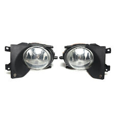 FOR 2001-2003 BMW E39 FRONT BUMPER REPLACEMENT CLEAR FOG LIGHTS LAMPS HOUSING