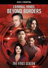 Criminal Minds: Beyond Borders - Season 1 (DVD, 2016, 4-Disc Set)
