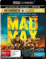 Mad Max: Fury Road 4K Blu-Ray + UHD + UV : NEW 4K Ultra HD