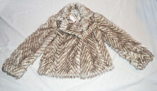 M&S Autograph Girls Faux Fur Coat Age 13-14 BNWT
