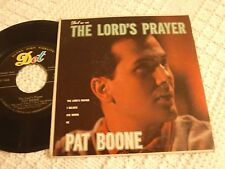 PAT BOONE DOT EP 1068 THE LORD'S PRAYER, I BELIEVE, HE, AVE MARIA