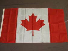 NYLON CANADA FLAG 3X5 NEW CANADIAN BANNER GOOD QUALITY F862