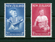 NEW ZEALAND 1963 HEALTH STAMPS SG815/816  MNH