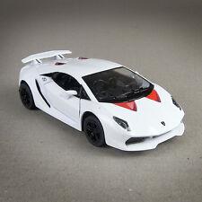 Lamborghini Sesto Elemento 1/38 Scale Diecast Metal Model White Sports Car
