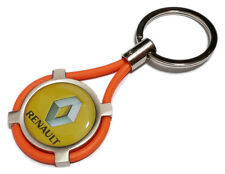 Portachiavi RENAULT auto moto keyring MADE IN ITALY idea regalo OR