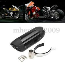 38-51mmMotorcycle Exhaust Muffler Pipe w/ Silencer ATV Quad Dirt Street Bike