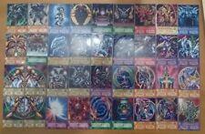 Yugioh Orica/anime style Exodia y tarjetas de dioses deck/set 36 cartas