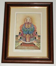 Print circa 100 yr old A Chinese Empress Dowager China (available unframed)