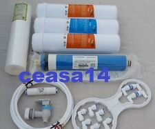 For Water Filter RO Purifier COMPLETE SERVICE KIT + 80 GPD VONTRON MEMBRANE