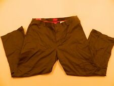 M20 New IZOD Metrix Fit Wrinkle Free Classic Legacy Chino Olive Pants 42 x 30