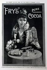 Reproduction Print Vintage Advertisement Poster Fry's Pure Concentrated Cocoa