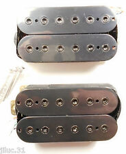 Neuf Set Humbuckers - black -  pour guitare GIBSON, FENDER, Epiphone...