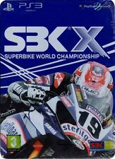 Sbk X Limitada Especial Steelbook Edition Ps3 * Nuevo Sellado Pal *