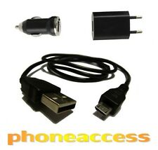 Chargeur 3 en 1 (Secteur + Voiture + Câble USB) ~ LG G3 // G2 Mini // ...