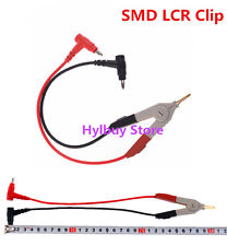 Cable Alligator CLIP for SMD Capacitor Cap ESR Meter DMM M6013 MESR-100 M4070