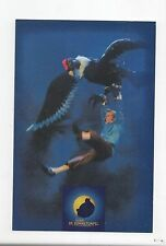 Carte postale Hergé. Le Temple du Soleil. Spectacle musical 2001. Etat neuf