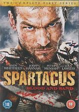 SPARTACUS - BLOOD AND SAND - Series 1. Andy Whitfield (4xDVD SLIM BOX SET 2011)