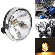 "7"" 12V Motorcycle Headlight Head Light Lamp For Yamaha YBR125 YBR 125 2002-2013"