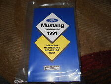 1991 FORD MUSTANG AND GT LX NEW CORRECT FACTORY OWNERS OPERATORS MANUAL NICE!