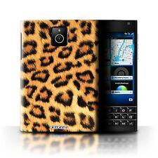 STUFF4 Back Case/Cover/Skin for Blackberry Passport/Leopard Animal Skin/Print