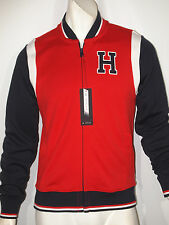 Tommy Hilfiger athletic baseball track jacket size large NEW on SALE