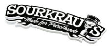 Sourkrauts ® Boches sw sticker made for petrolheads Autocollant tuning DUB
