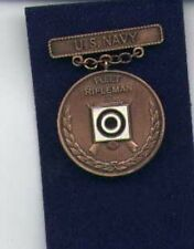 US Navy Fleet Rifleman Shooting badge in bronze