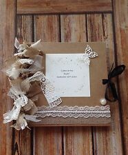 """""""BRIDE TO BE"""" ❤️ HEN PARTY GIFT... """"Letters To The Bride"""" Scrapbook/Memory Book"""