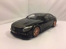 1/18 GT SPIRIT MERCEDES BRABUS 850 BLACK W/GOLD RIMS L.E. 1500pcs NIB