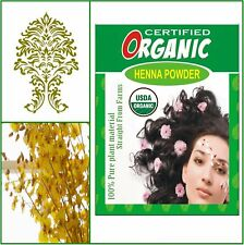 ONE Box. USDA Certified Organic Henna. Golden Brown Hair Color. 100g.