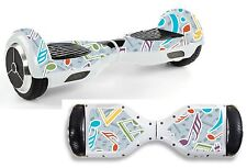 Music Notes Sticker/Skin Hoverboard / Balance Board Hov39