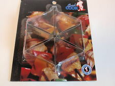 Good Cook Set 6 Silver Metal Tablecloth Clamps Picnic Outdoor Table Secure NIP