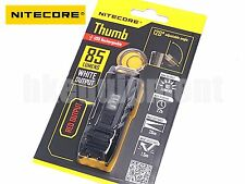 NiteCore THUMB  Rechargeable USB Pocket Clip Keychain+RED LED Flashlight