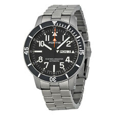 Fortis Diver Automatic  Black Dial Titanium Mens Watch 6472941M