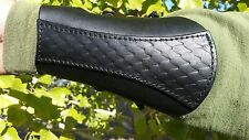 ARCHERY BRACER /ARM GUARD / DRAGON SCALE HANDMADE/BLACK