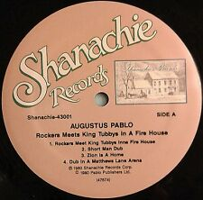 AUGUSTUS PABLO - ROCKERS MEETS KING TUBBY IN A FIREHOUSE (US LP