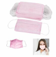 100PCS STERILE DISPOSABLE EARLOOP SURGICAL FACE MASK FOR MEDICAL DENTAL NAIL USE